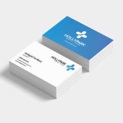 Medical center Business Cards Printing, Custom Standard Business cards | Matte Coating Medical center Business Cards With Black Premium Gloss | Print Magic