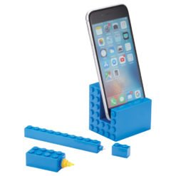 3-in-1 Phone Stand with Pen and Highlighter