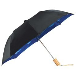 "46"" Blue Skies Auto Open Folding Umbrella-1"