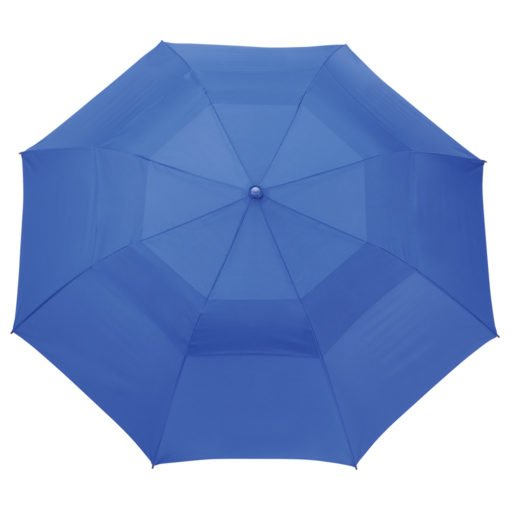 "56"" Auto Open Folding Umbrella w/ wood handle-2"