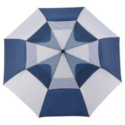 "42"" Vented, Auto OpenClose Folding Umbrella-1"