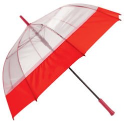 "52"" Bubble Umbrella with Fabric Hem-1"