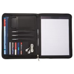 Cross® Classic Leather Zippered Padfolio-1