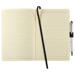 "5.5"" x 8.5"" Heathered Soft Bound JournalBook-1"