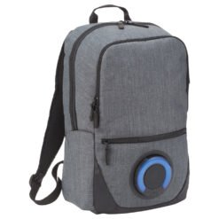"Blare Bluetooth Speaker 15"" Computer Backpack-1"