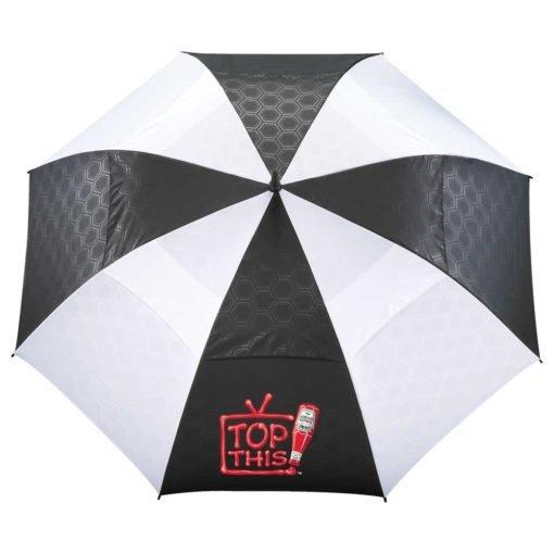 "64"" Slazenger™ Champions Vented Auto Golf Umbrella-5"