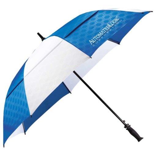"64"" Slazenger™ Champions Vented Auto Golf Umbrella-9"