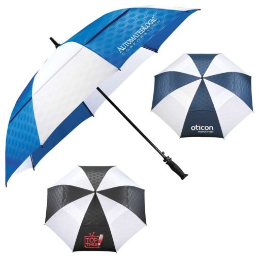 "64"" Slazenger™ Champions Vented Auto Golf Umbrella-7"