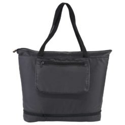 BRIGHTtravels Foldable Zippered Tote-1