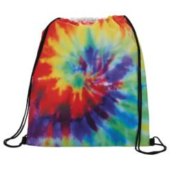 Promotional Tie Dye Drawstring Bag