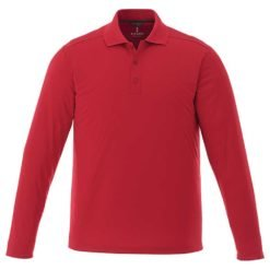 M-MORI Long Sleeve Polo-1