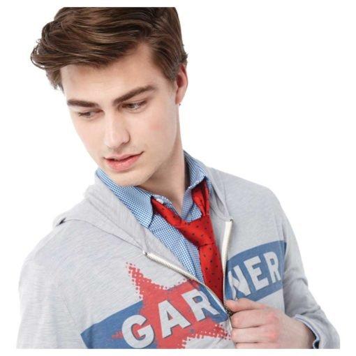 M-Garner Knit Full Zip Hoody-16