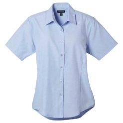 W-Lambert Oxford Short Sleeve Shirt-1