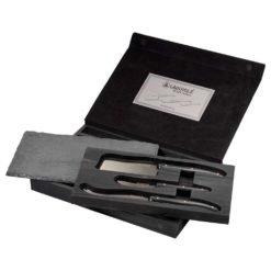 Laguiole® Black Cheese & Serving Set-1