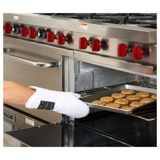 Silicone Grip Cotton Oven Mitt-6