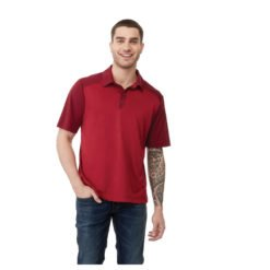 M-SAGANO Short Sleeve Polo-1