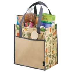 Big Grocery Vintage Matte Laminated Non-Woven Tote-1