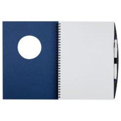 Frame Circle Large Hardcover Spiral JournalBook™-1