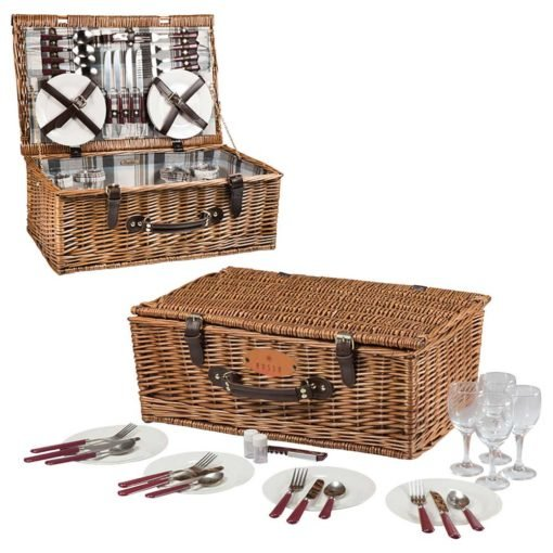 Picnic Time Newbury Wine Basket-2