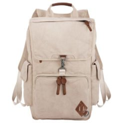 "Alternative® Deluxe 17"" Cotton Computer Backpack-1"
