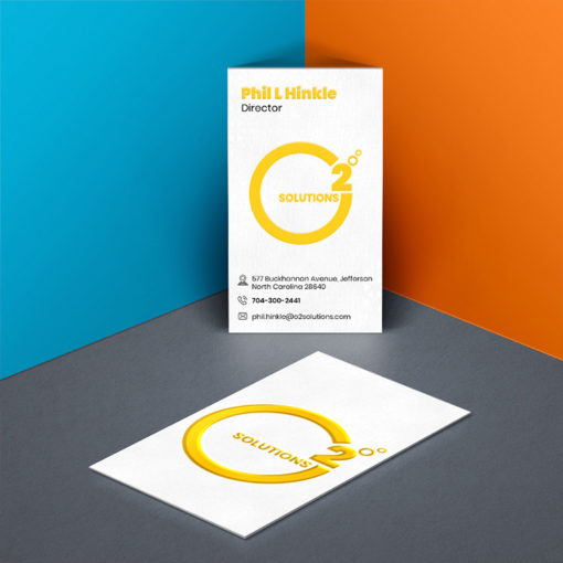 Raised Spot UV Business Cards | Business Cards Raised Spot UV Vertical Rectangle Service Provider | PrintMagic