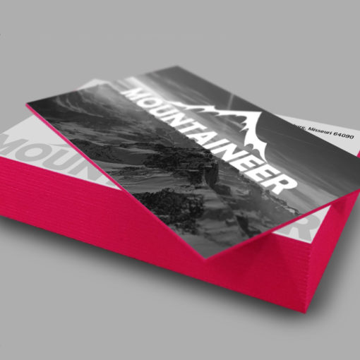 Ultra Thick Painted Edge Business Cards | Pink Ultra Thick Painted Edge Business Cards | PrintMagic