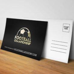 Foil Postcards printing, Specialized Foil Postcards, Premium Gloss Postcards