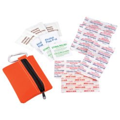 Zippered 20-Piece First Aid Pouch-1