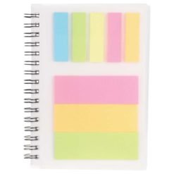 """3"""" x 4"""" Peppi Spiral with Sticky Notes"""