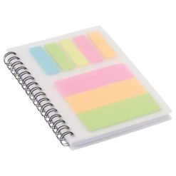 """3"""" x 4"""" Peppi Spiral with Sticky Notes-1"""