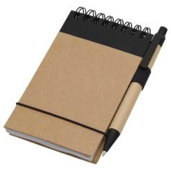 "5"" x 4"" Recycled Spiral Jotter with Pen"