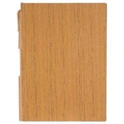 "6"" x 8.5"" Bari Notebook with Pen"