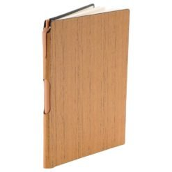 "6"" x 8.5"" Bari Notebook with Pen-1"