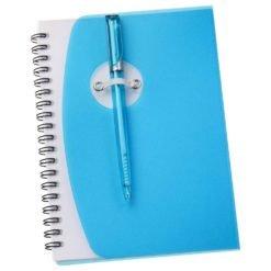"""5"""" x 7"""" Sun Spiral Notebook with Pen-1"""