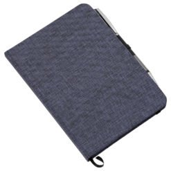 "5"" x 7"" Heathered Bound Notebook-1"