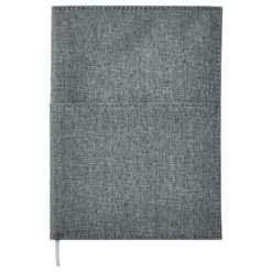 """5""""x 7"""" Canvas Pocket Refillable Notebook-1"""