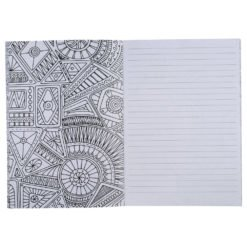 """5.5"""" x 8.5"""" Doodle Coloring Notebook-1"""