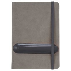 "5"" x 7"" Slider Notebook with Pen"