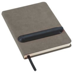"5"" x 7"" Slider Notebook with Pen-1"