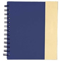 "6.5"" x 7"" Lock-it Spiral Notebook w/Pen-1"