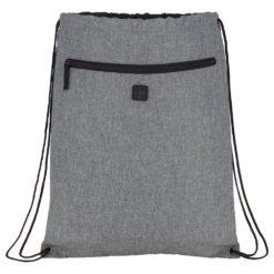 Graphite Drawstring Sportspack w/ Earbud