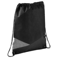 Mesh Non-Woven Drawstring Bag-1