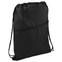 Insulated Zippered Drawstring Bag-1