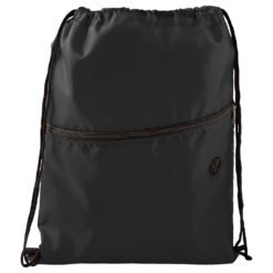 Insulated Zippered Drawstring Bag