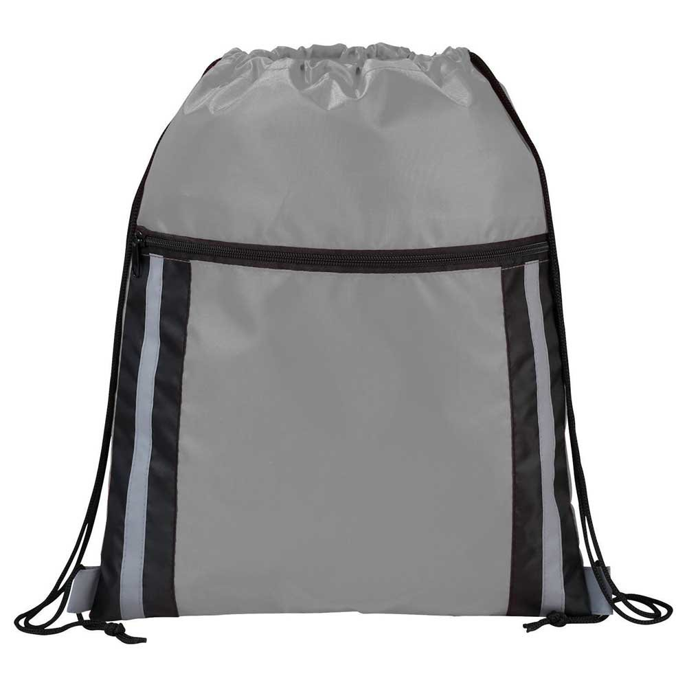 Deluxe Reflective Drawstring Bag