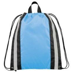 Small Reflective Drawstring Bag-1