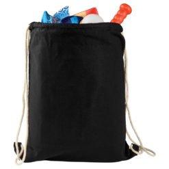 Large Cotton Drawstring Bag-1