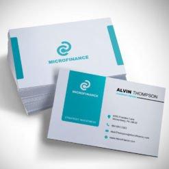 Silk Business Cards Size, Spot UV Coating Silk Lamination Business Cards