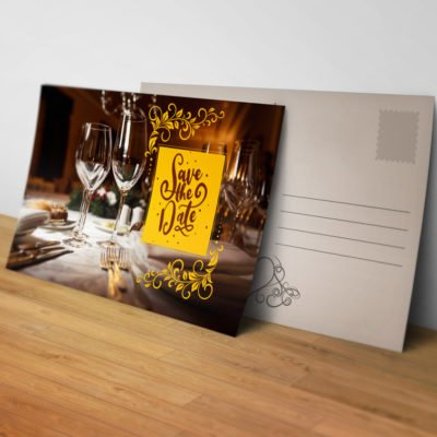 Silk Postcards printing | Premium Silk Postcards with Premium Gloss and Spot UV coating and Spot UV Front sides | PrintMagic