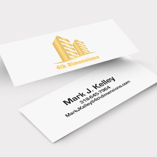 Slim Business Cards Printing, Professional Business Cards, UV Coating Business Cards